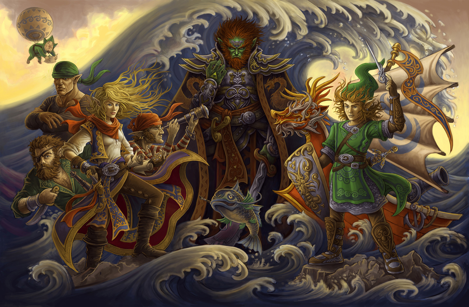 The Legend Of Zelda The Wind Waker Wallpaper And Background Image