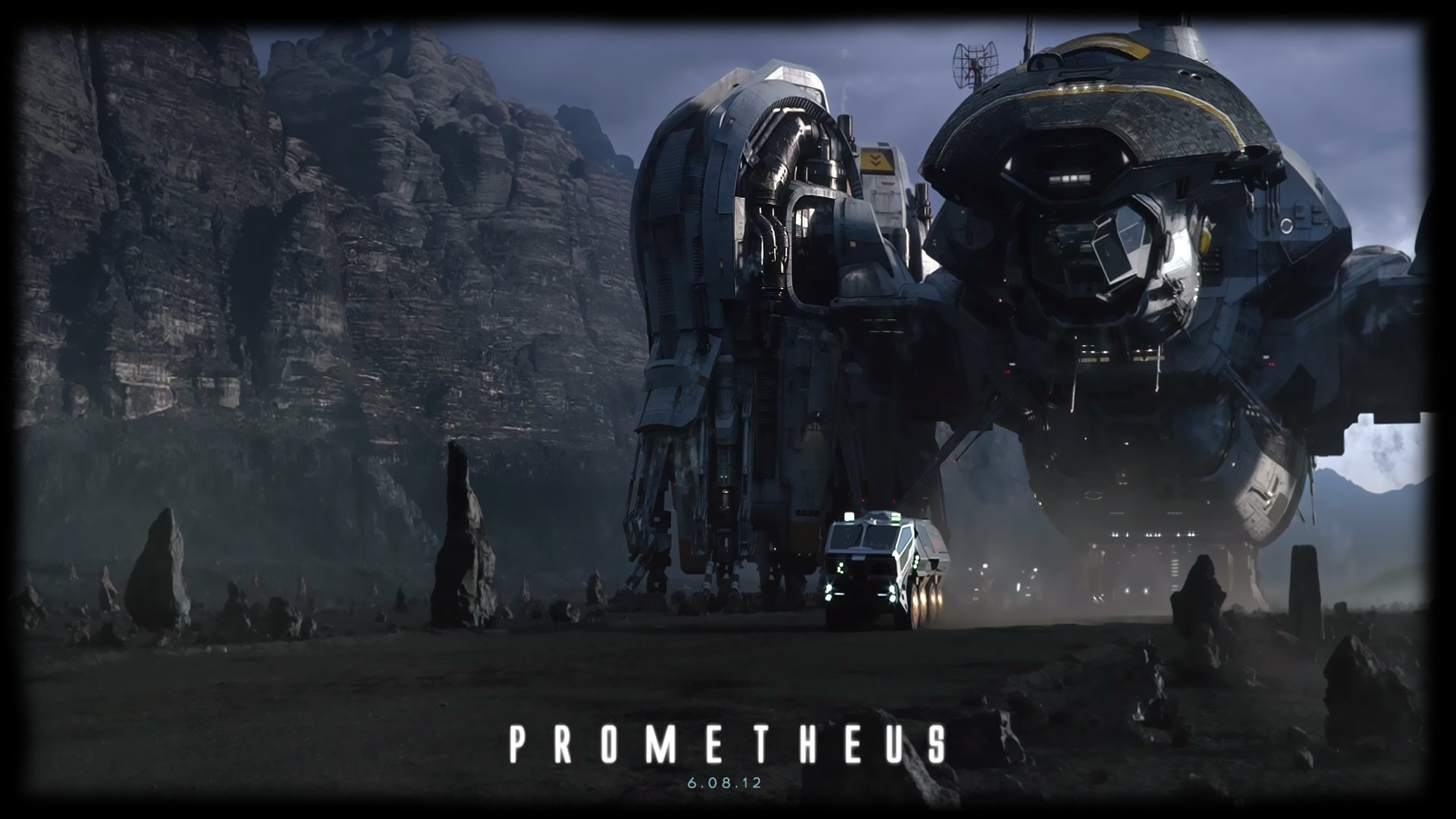 Prometheus Directored By Ridley Scott Fondo De Pantalla Hd