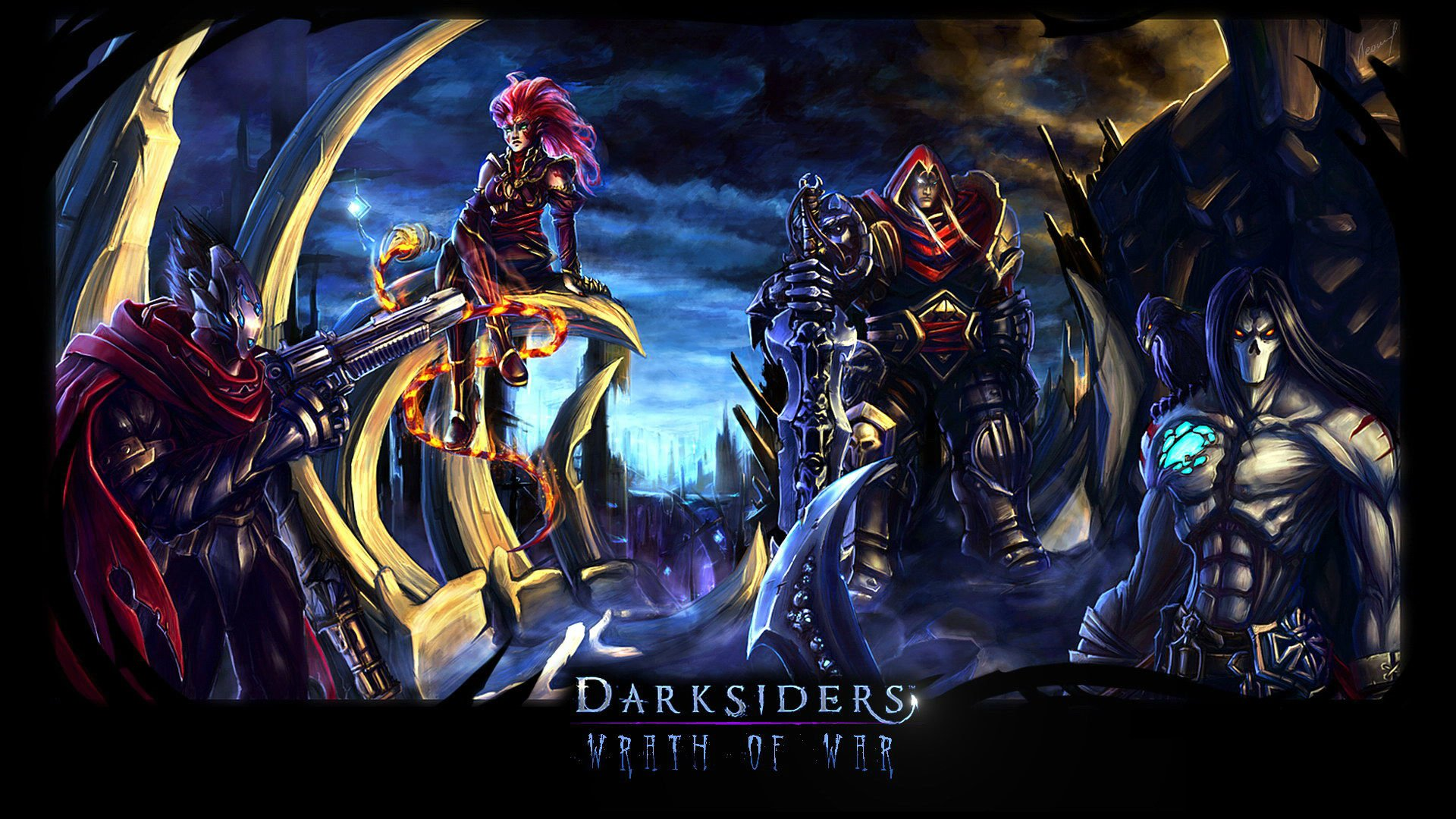 Darksiders War Wallpaper By: Darksiders Full HD Wallpaper And Background Image