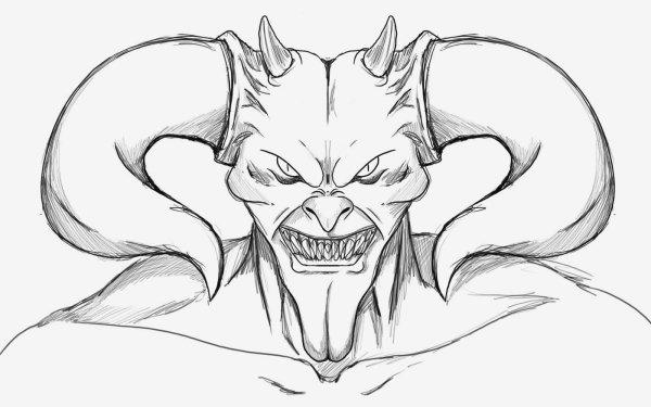 Oscuro Demonio Oculto Satanic Satan Fondo de pantalla HD | Fondo de Escritorio