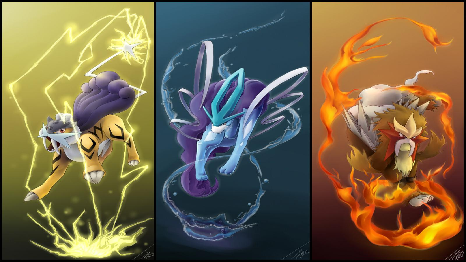 Pok mon wallpaper and background image 1600x900 id 294456 - All legendary pokemon background ...