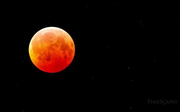 Earth Moon Blood Moon HD Wallpaper | Background Image