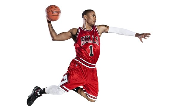 Sports Chicago Bulls Basketball Derrick Rose HD Wallpaper | Background Image