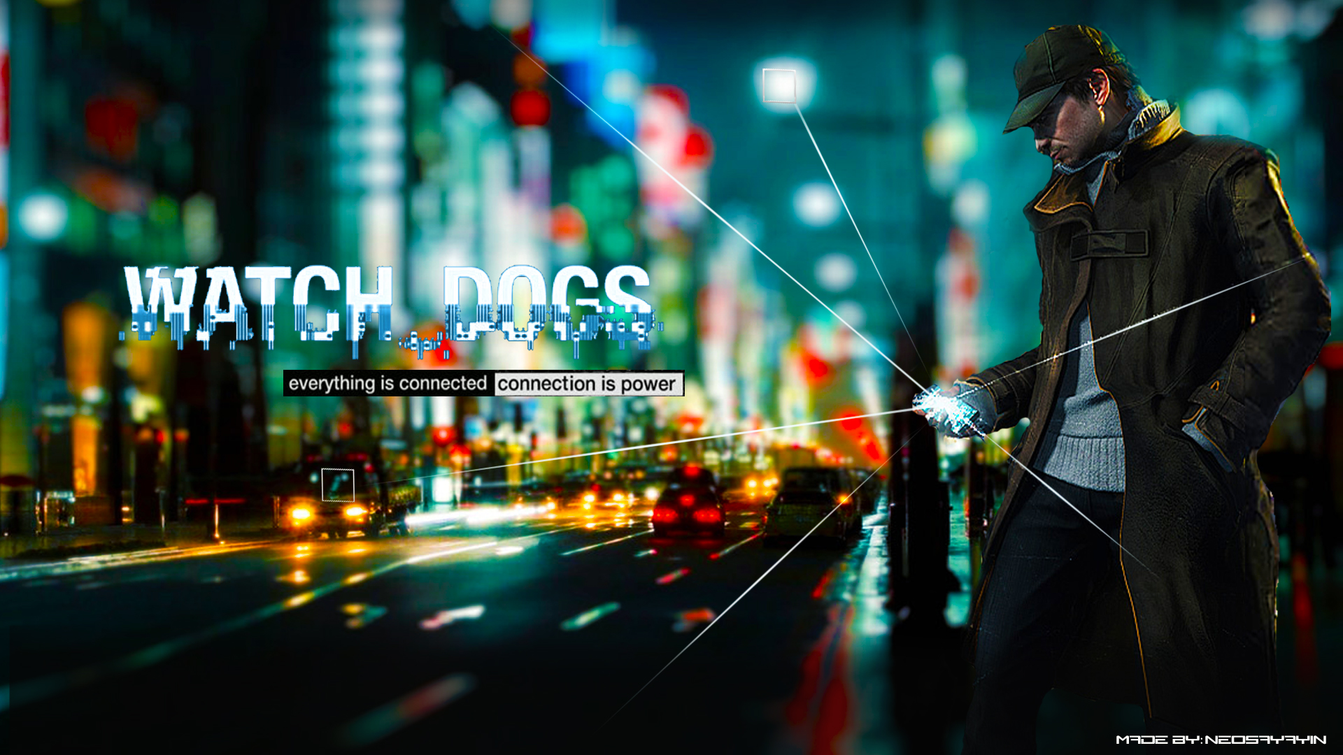 Video Game - Watch Dogs  Wallpaper