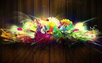 Abstract - Colors Wallpapers and Backgrounds ID : 296604