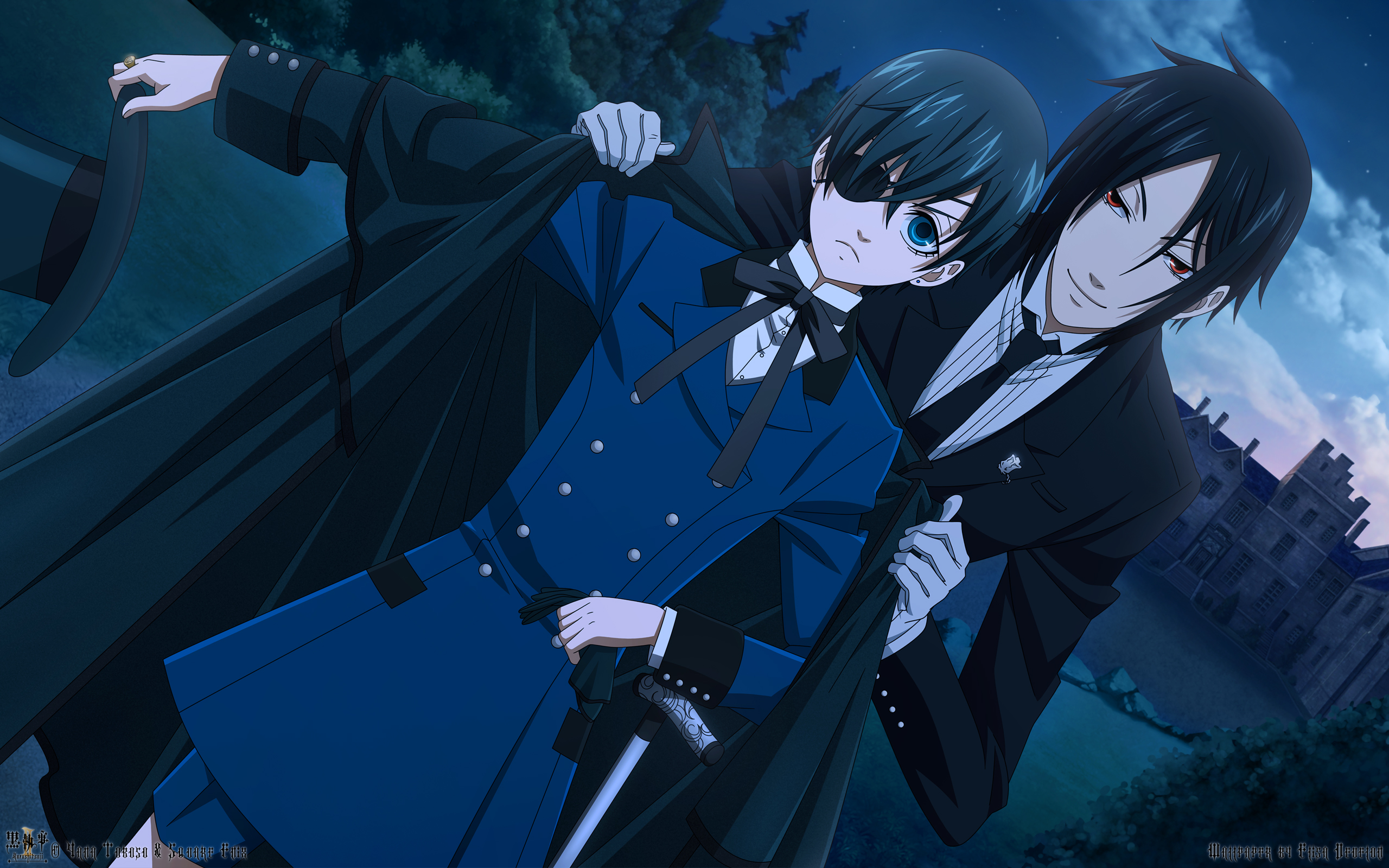 The Undertaker Black Butler Background Download