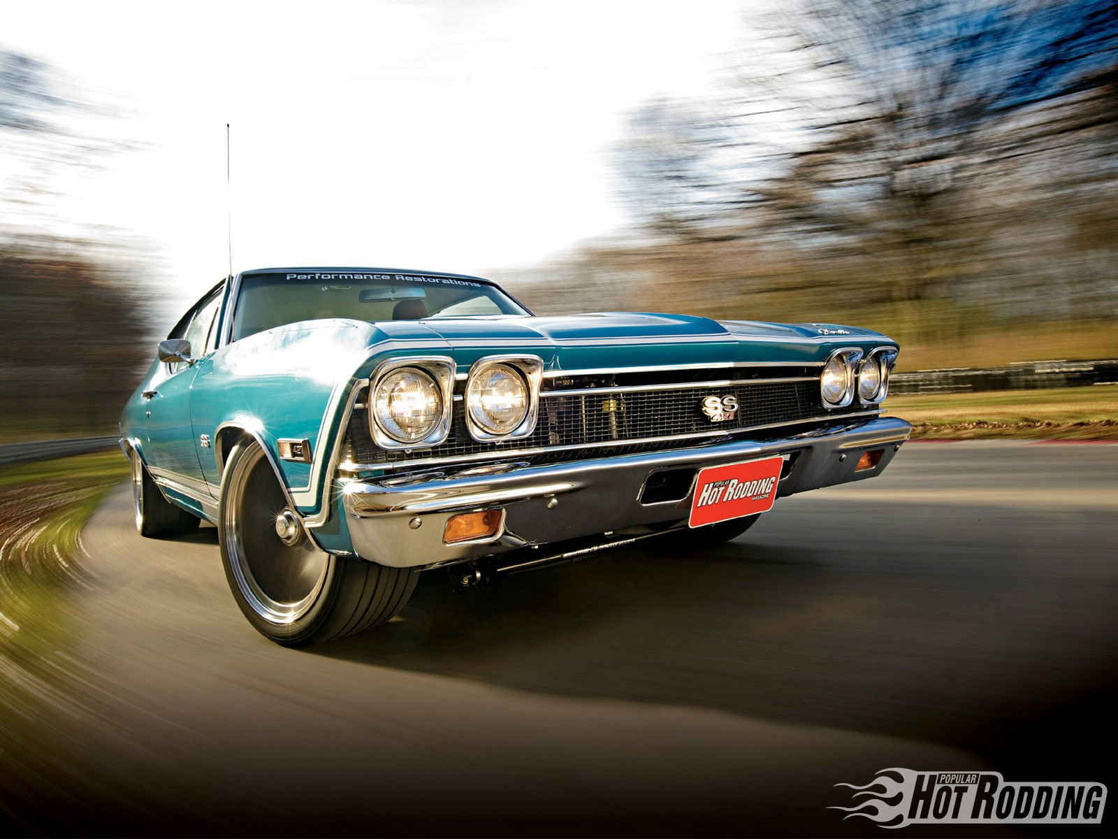 1968 Chevy Chevelle Ss 900 H P Wallpaper And Background