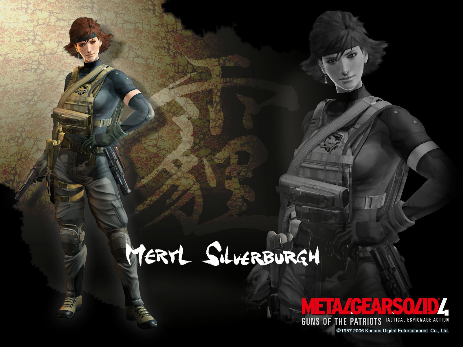Metal Gear Solid 4 Guns Of The Patriots Wallpaper And Background