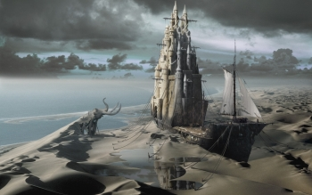 Fantasy - City Wallpapers and Backgrounds ID : 3226