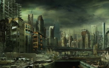 Научная фантастика - Post Apocalyptic Wallpapers and Backgrounds ID : 33746