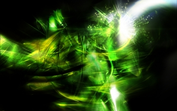 Abstract - Green Wallpapers and Backgrounds ID : 34808