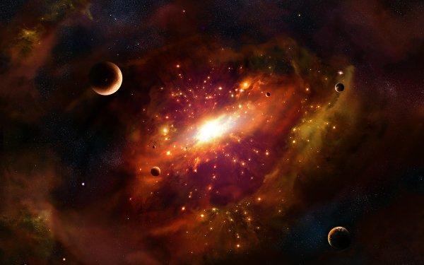 Sci Fi Space Galaxy HD Wallpaper | Background Image
