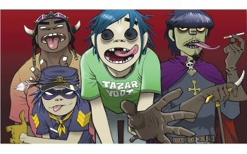 Music - Gorillaz Wallpapers and Backgrounds ID : 37078