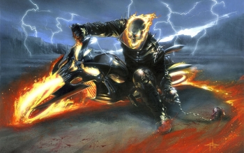 Комиксы - Ghost Rider Wallpapers and Backgrounds ID : 3818