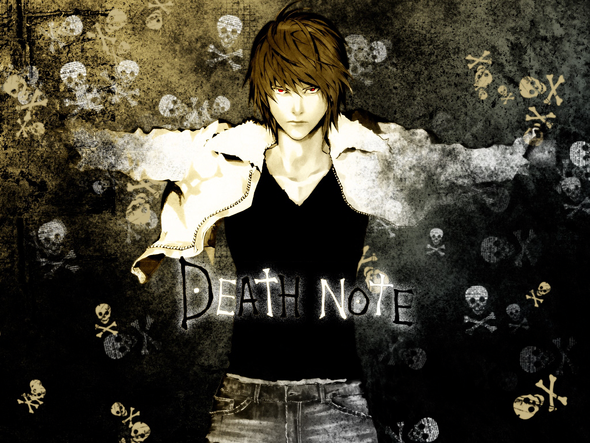 Anime - Death Note  Light Yagami Wallpaper