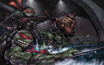 Комиксы - Tmnt Wallpapers and Backgrounds ID : 40314
