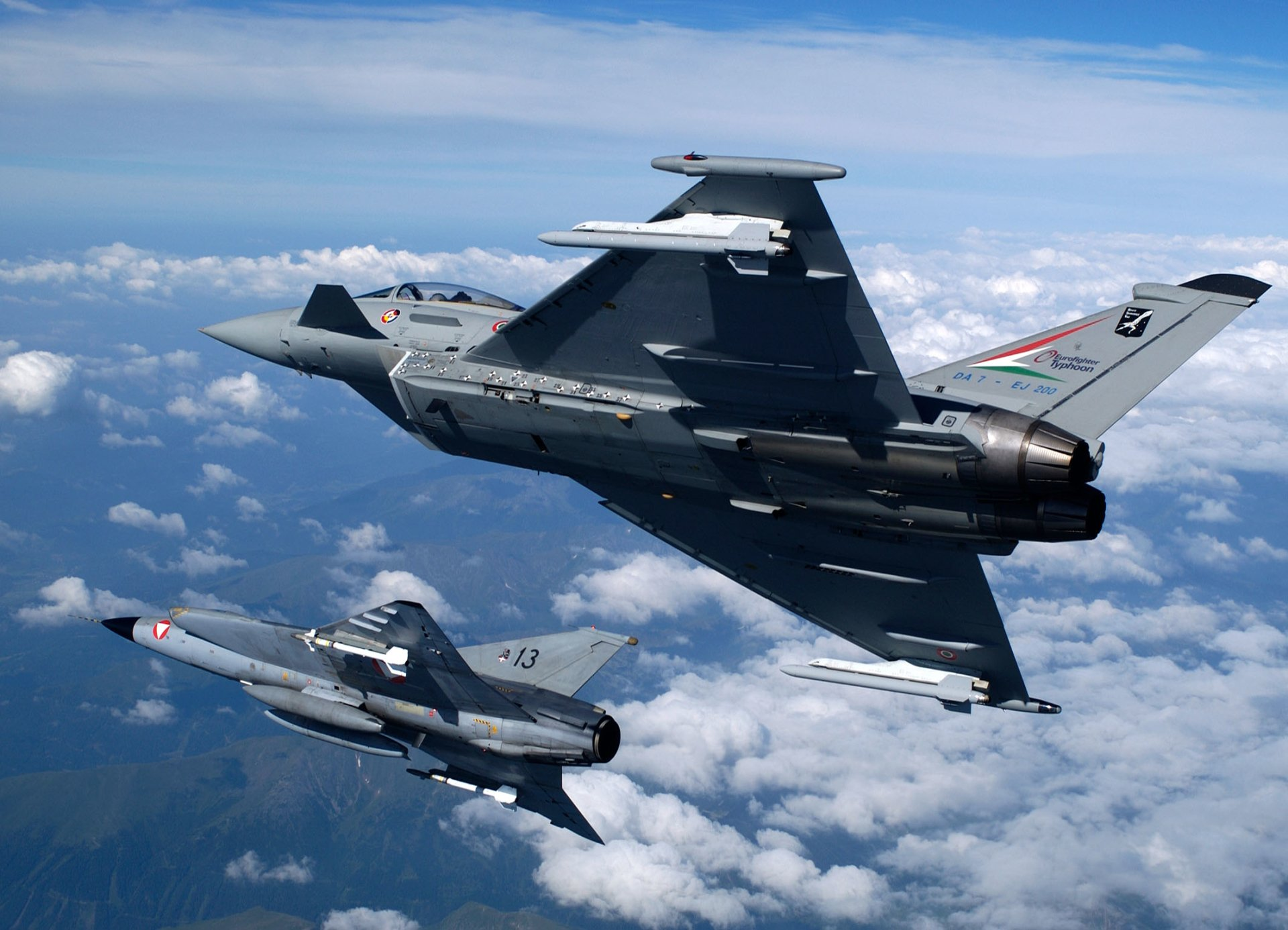 Military - Eurofighter Typhoon  Airplane Wallpaper