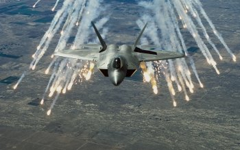 Военные  - Lockheed Martin F-22 Raptor Wallpapers and Backgrounds ID : 41416
