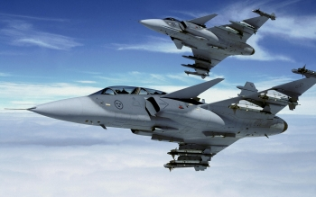 Military - Saab JAS 39 Gripen Wallpapers and Backgrounds ID : 41424