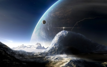 Научная фантастика - Planet Rise Wallpapers and Backgrounds ID : 43006