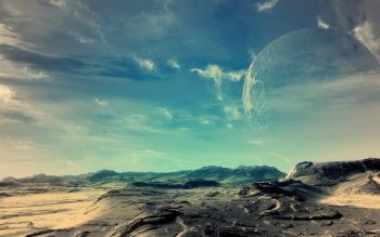 Fantascienza - Planet Rise Wallpapers and Backgrounds ID : 44818