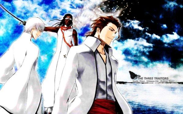 Anime Bleach Sōsuke Aizen Kaname Tosen Gin Ichimaru Fondo de pantalla HD   Fondo de Escritorio