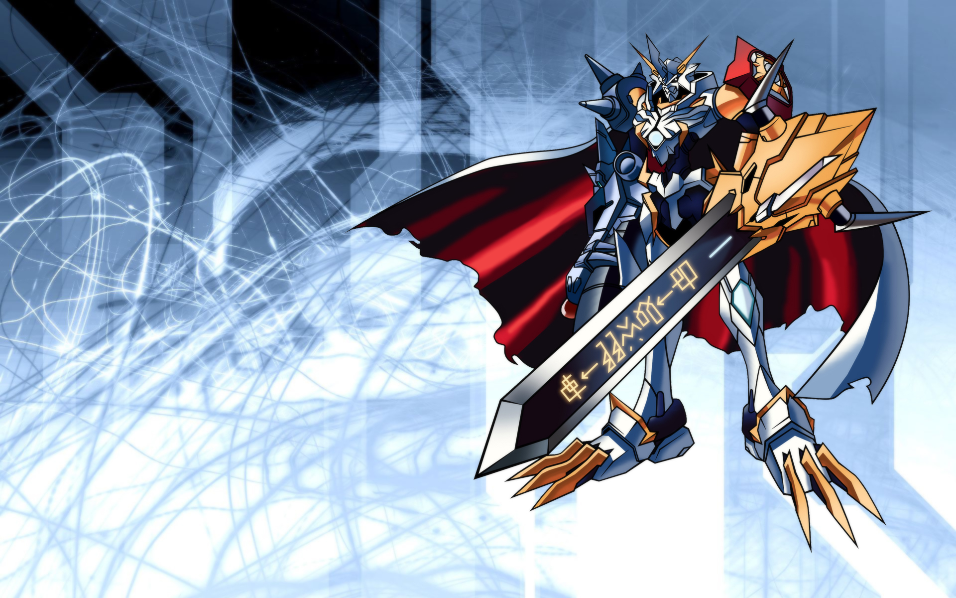Anime - Digimon  - Omnimon - Wargreymon Wallpaper