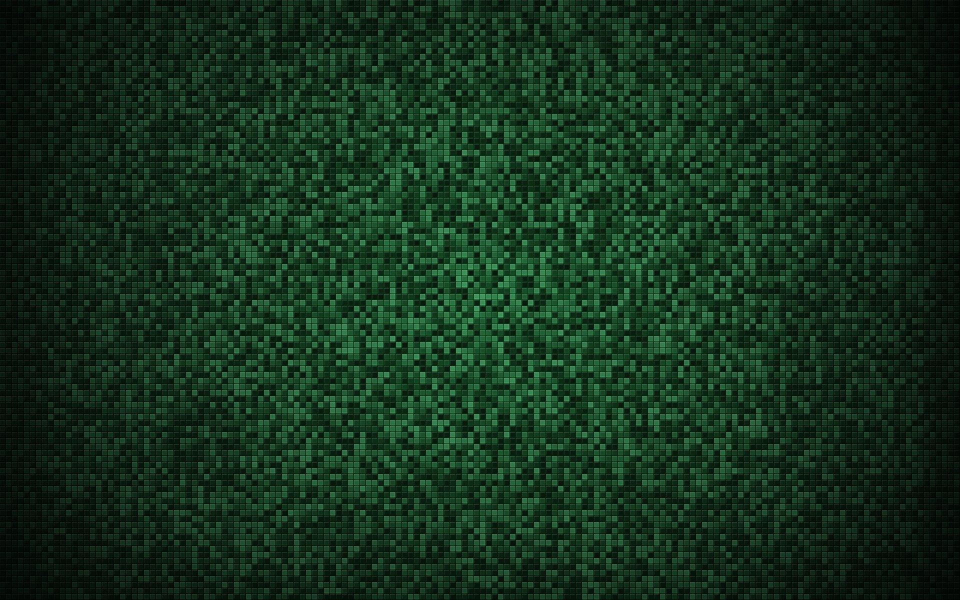 Patrón - Square  Verde Abstracto Digital Arte digital Patrón Fondo de Pantalla