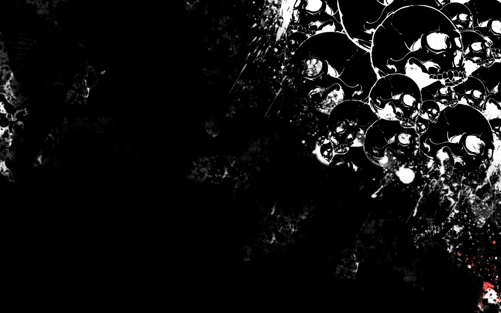 HD Wallpaper | Background Image ID:53716. 1680x1050 Dark Skull