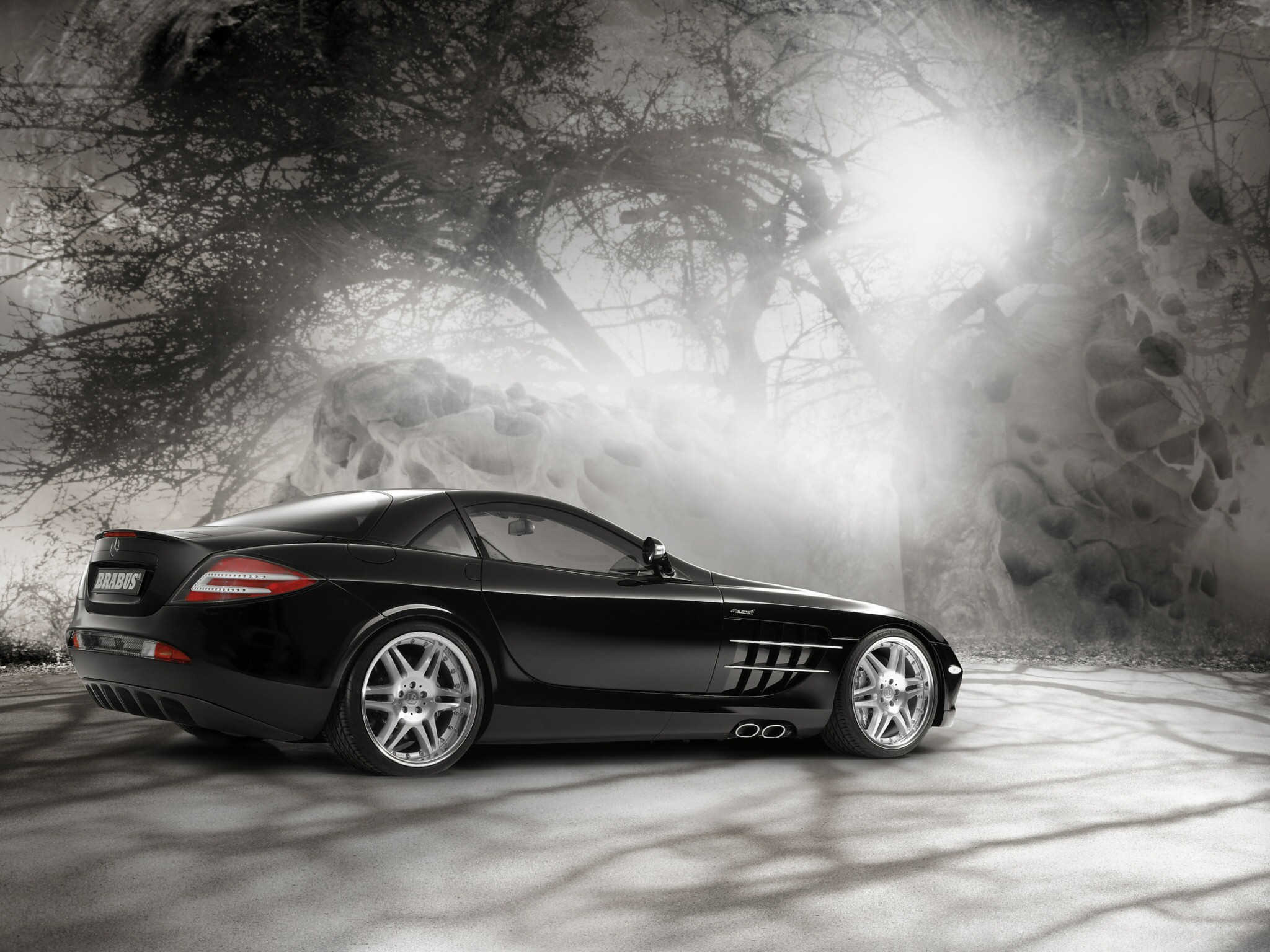 Fahrzeuge - Mercedes-Benz Slr  - Mercedes Hintergrundbild