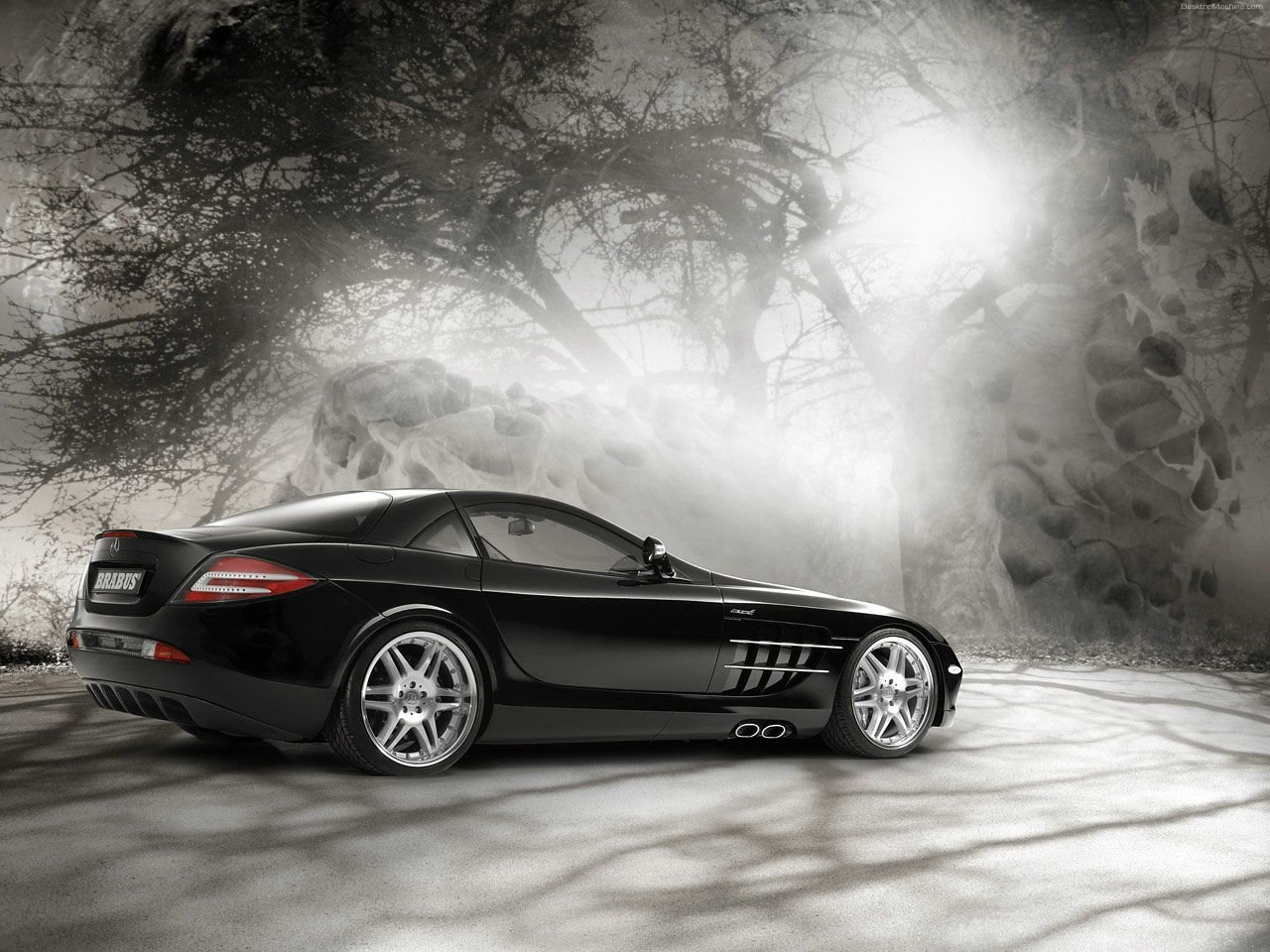 Vehicles - Mercedes-Benz SLR McLaren  Mercedes Wallpaper