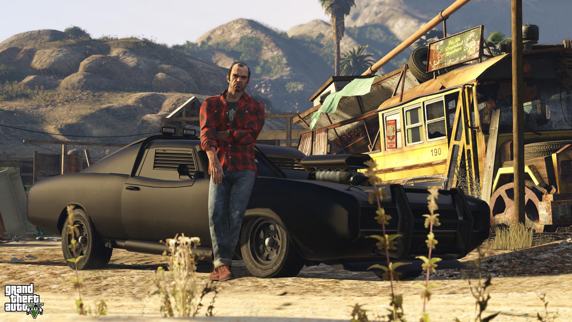 Grand Theft Auto V Hd Wallpaper Background Image 1920x1080