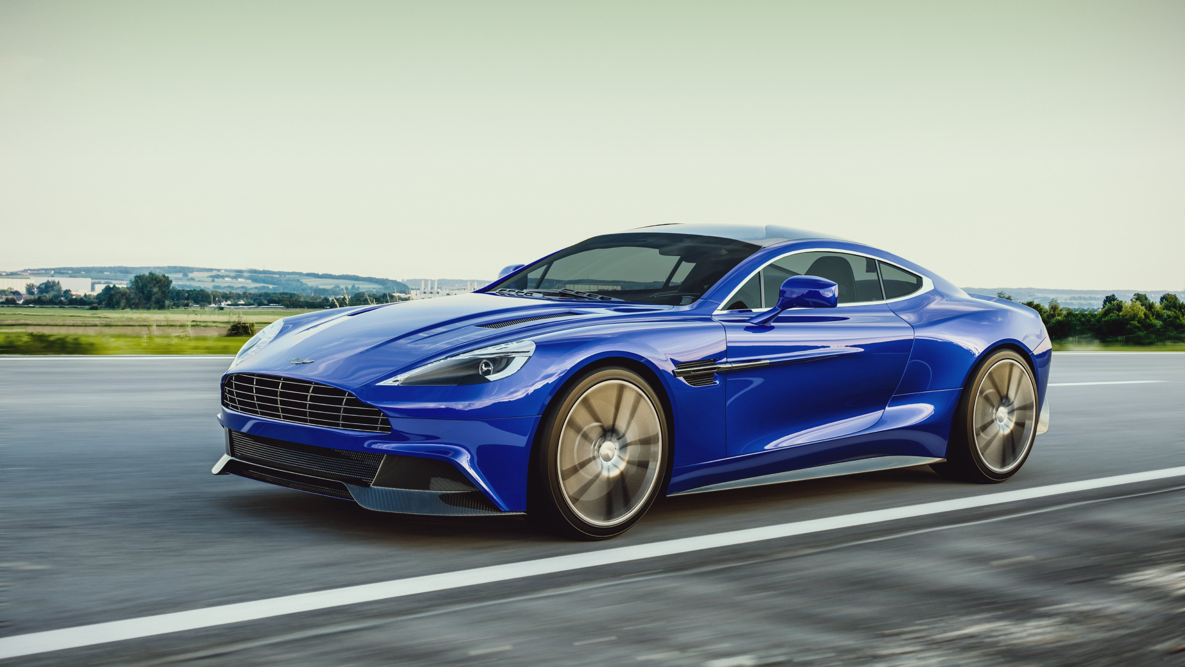 aston martin vanquish 4k ultra hd wallpaper | background image