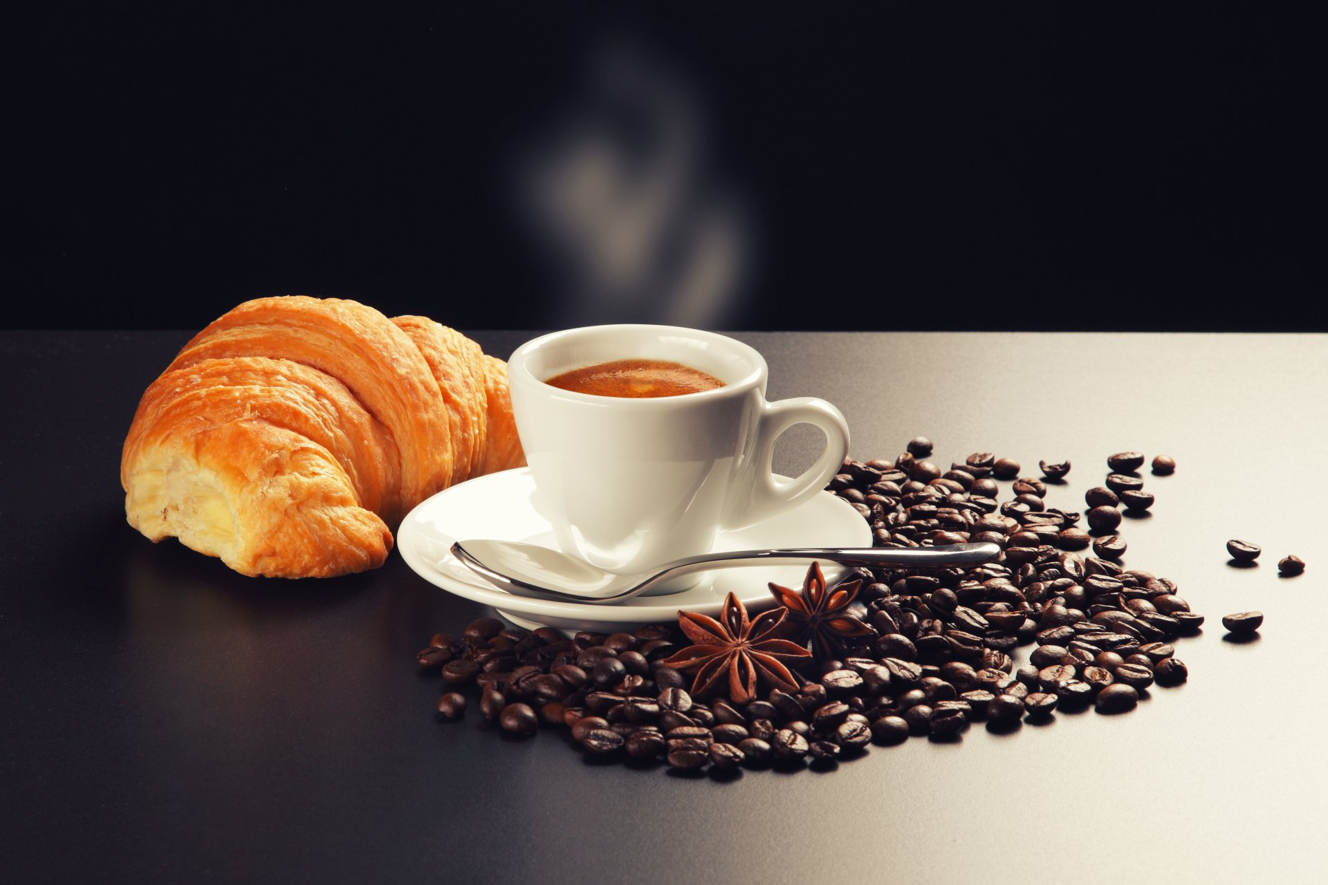Food - Cappuccino  Coffee Beans Wallpaper