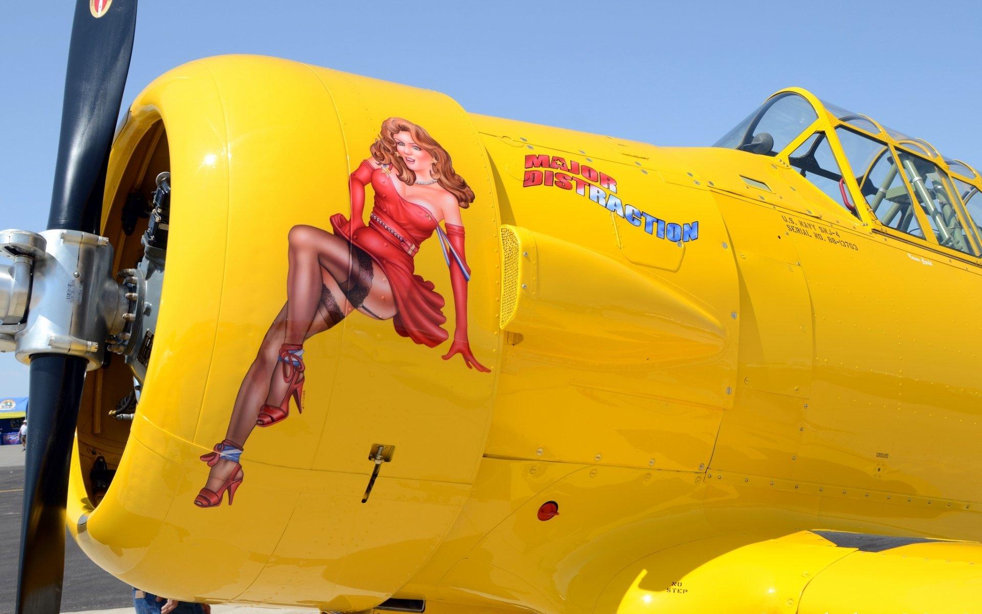 Aircraft Nose Art HD Wallpaper   Background Image   1920x1200   ID ...