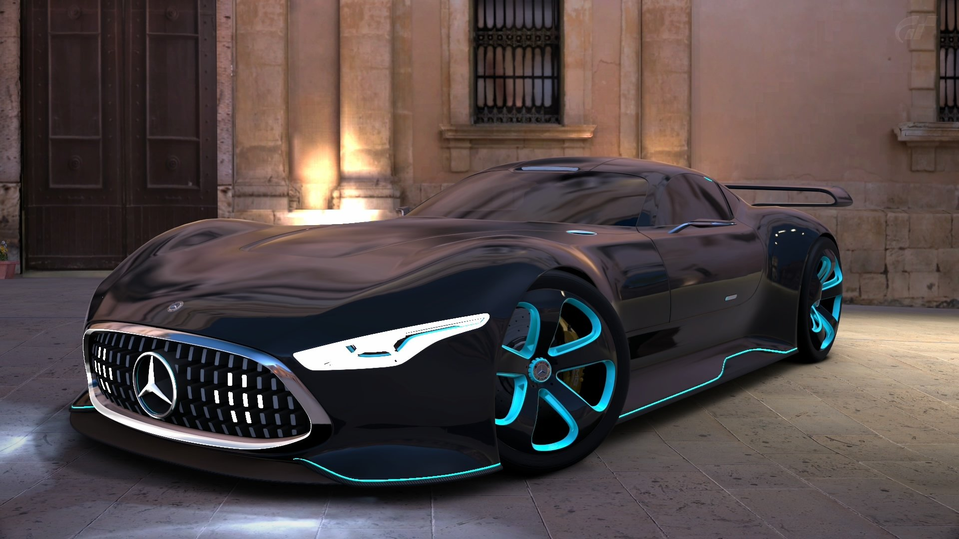 Mercedes-Benz AMG Vision Gran Turismo HD Wallpaper ...