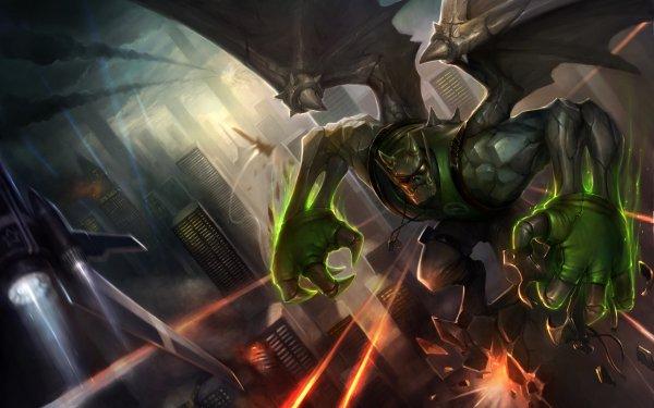 Videojuego League Of Legends Galio Fondo de pantalla HD | Fondo de Escritorio