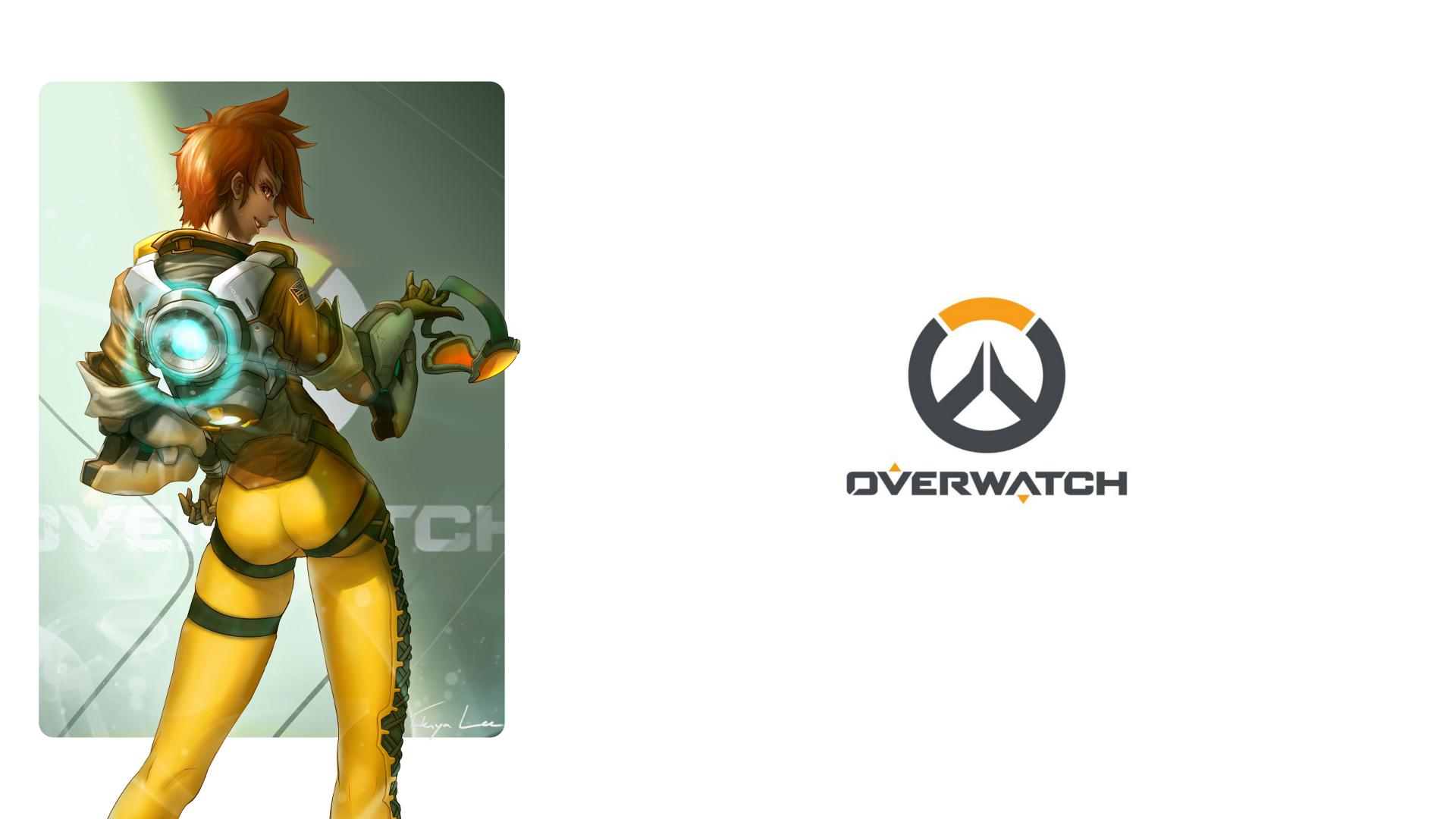 Overwatch Dual Screen Wallpaper: Glance HD Wallpaper