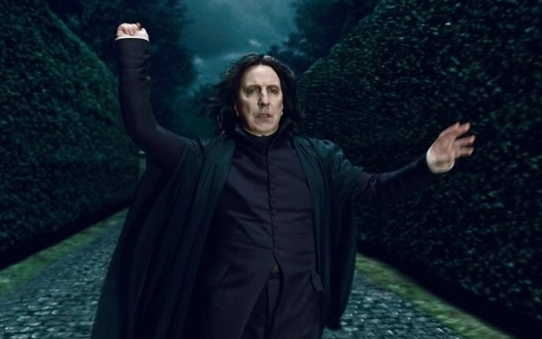 Movie Harry Potter and the Deathly Hallows: Part 1 Harry Potter Severus Snape Alan Rickman HD Wallpaper | Background Image