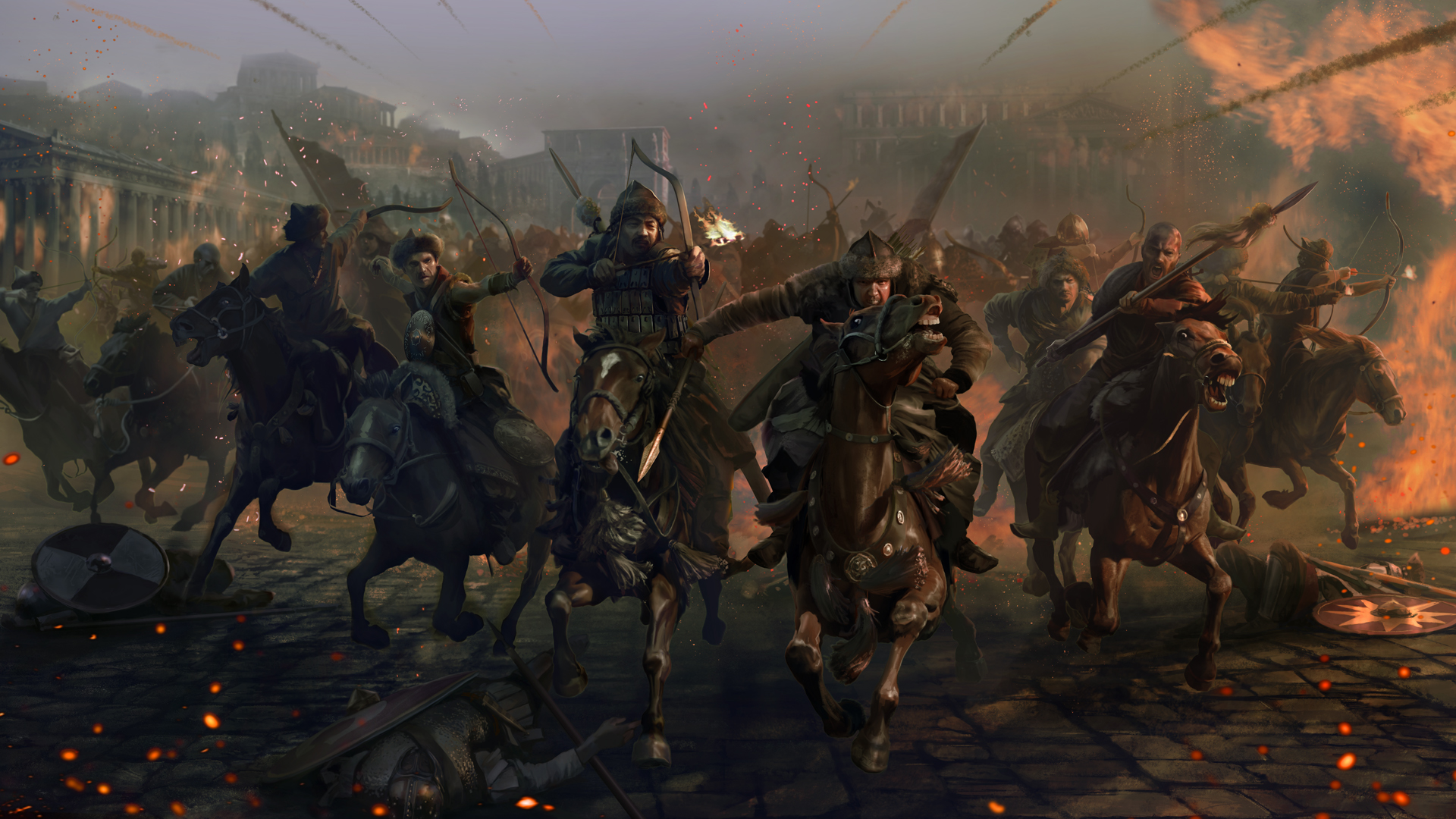Total War: Attila HD Wallpaper | Background Image | 1920x1080 | ID:557144 -  Wallpaper Abyss