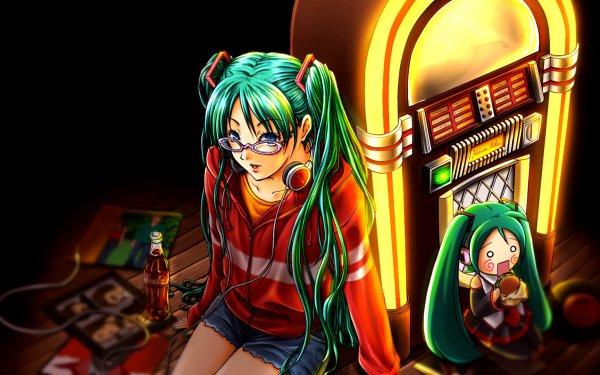 Anime Vocaloid Hachune Miku Hatsune Miku HD Wallpaper | Background Image