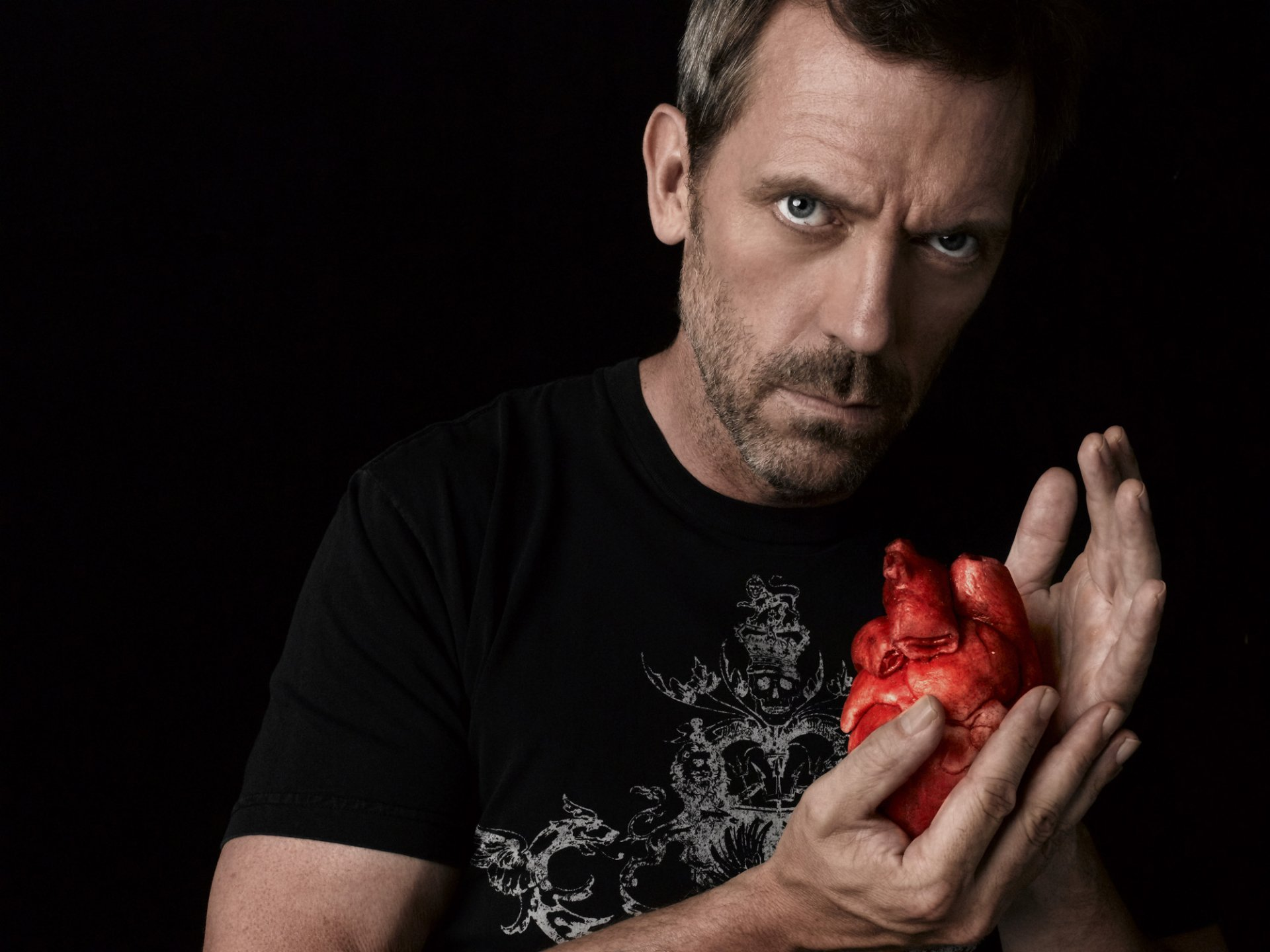 TV-program - House  Hugh Laurie Gregory House Bakgrund