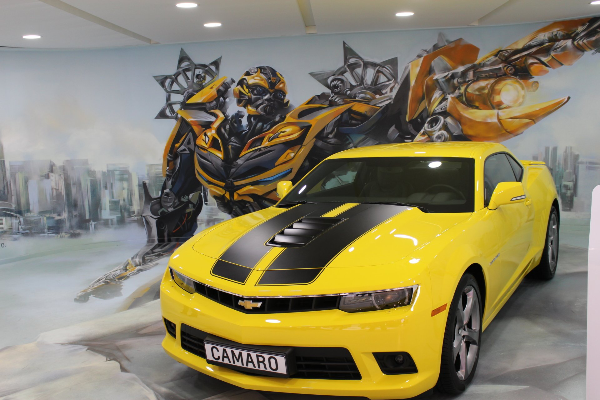 Vehicles - Chevrolet Camaro  Bumblebee (Transformers) Wallpaper
