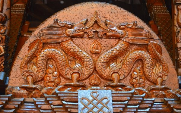 Man Made Nepalese Pagoda Pagoda Brisbane Carving Photography Dragon Nepalese Building Wood HD Wallpaper   Background Image