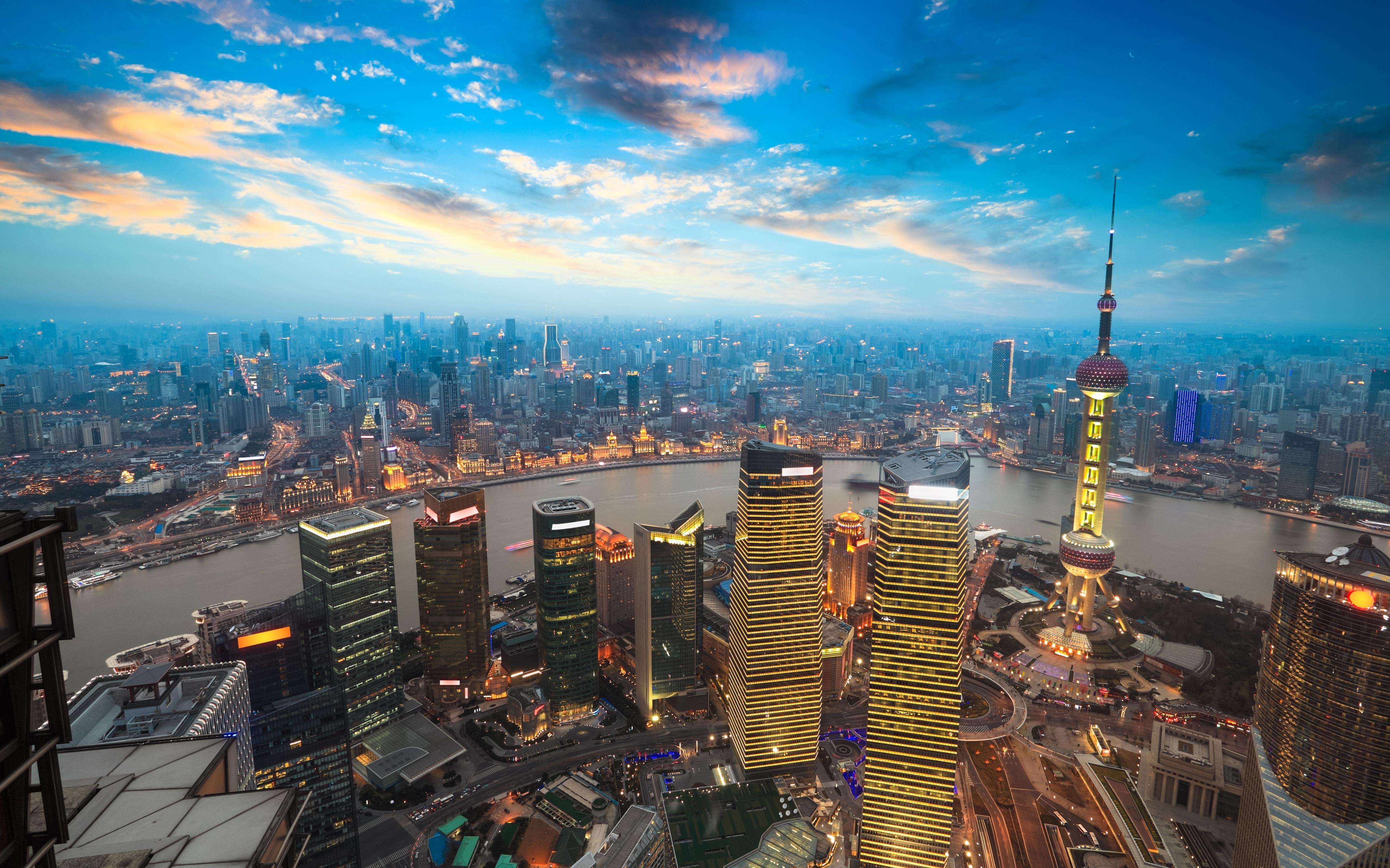 THE BUND, SHANGHAI, CHINA 5k Retina