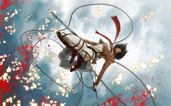 Anime Attack On Titan Mikasa Ackerman HD Wallpaper | Background Image
