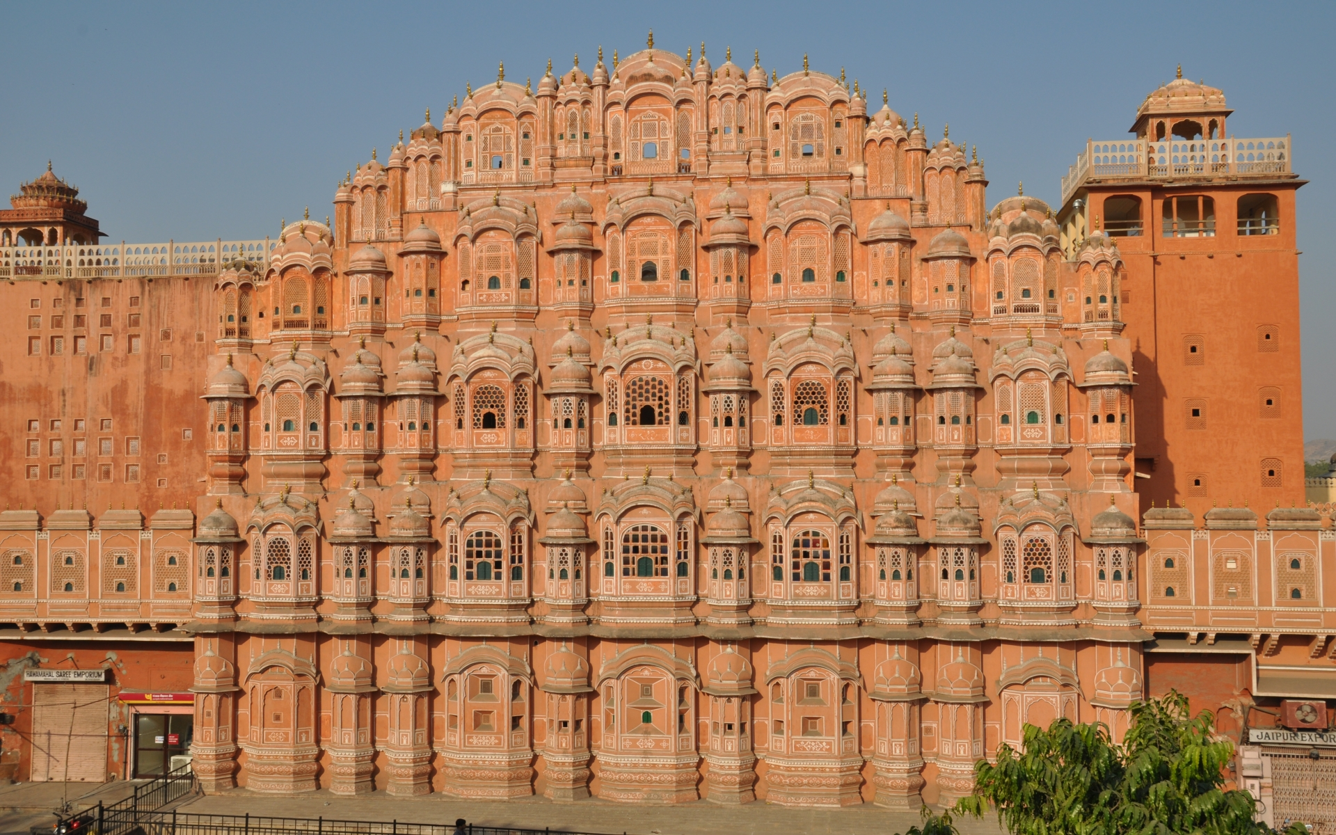 Hawa mahal full hd wallpaper and background image for Wallpaper for home walls jaipur