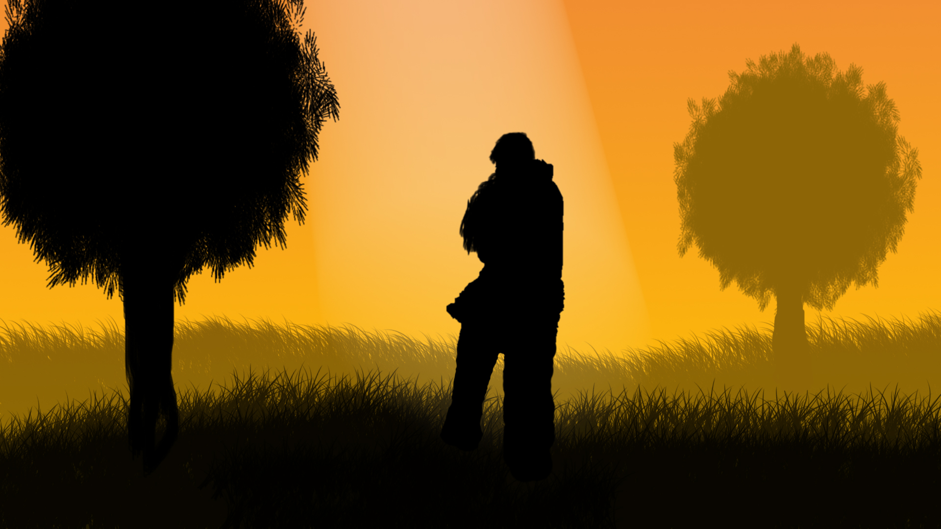 Hugs in the field Full HD Wallpaper and Background Image ...