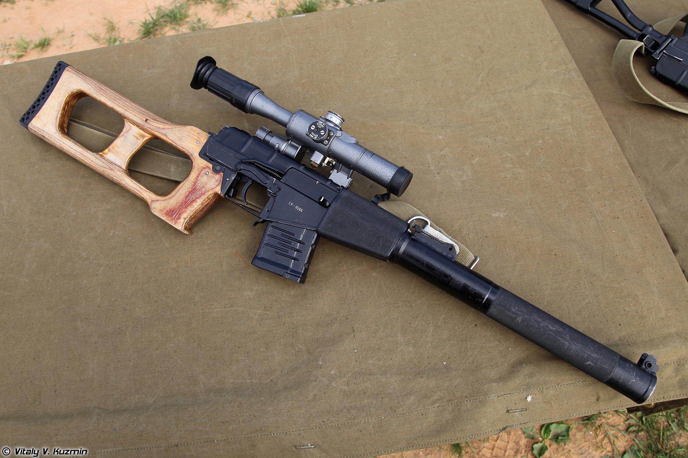 Rifles Of Russian Army Hd Wallpaper: 1 VSS Vintorez Sniper Rifle HD Wallpapers