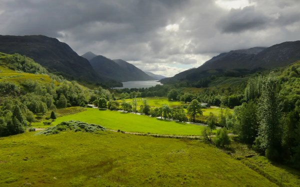 Earth Landscape Scotland Lake Mountain HD Wallpaper | Background Image